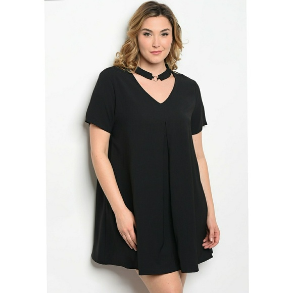 Very J Dresses Black Plus Size Sexy Dress Poshmark